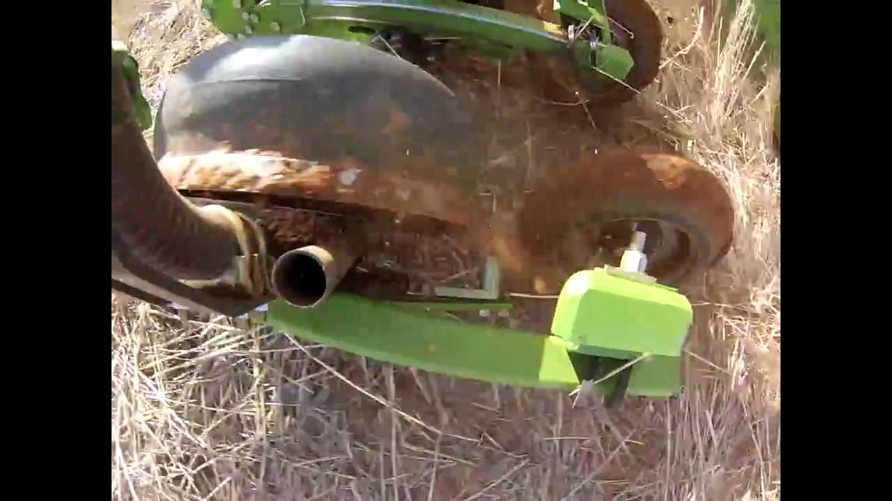Single Disc Planter by Boss Agriculture - YouTube