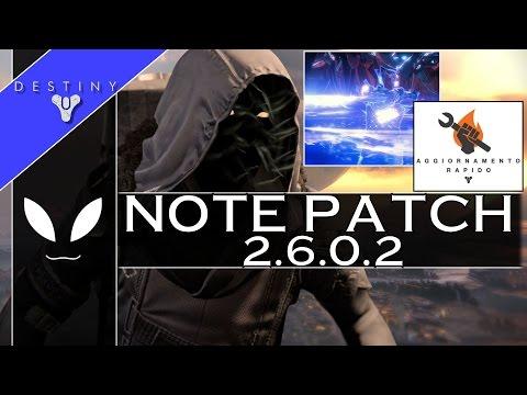 DESTINY: XUR Presenta - Note dell'Hot-Fix 2.6.0.2