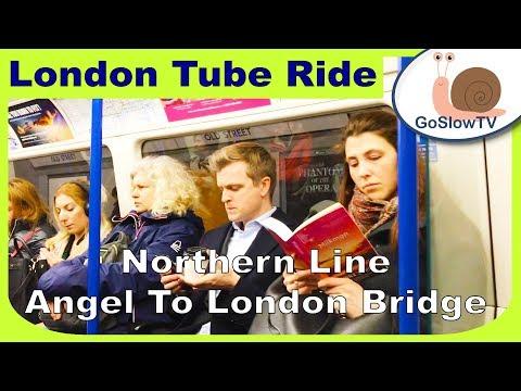 London Underground Tube Ride | Angel To London Bridge | Northern Line | Slow TV | Episode 189 (2019) Mp3