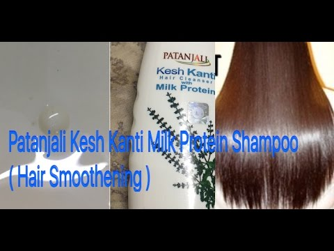 Best Shampoo for dry & rough hair/Patanjali Milk Protein Shampoo HONEST Review