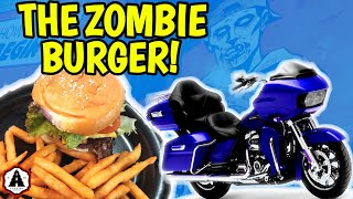 We Ride Our Road Glides 300 MILES to Zombie Burger In Des Moines IOWA