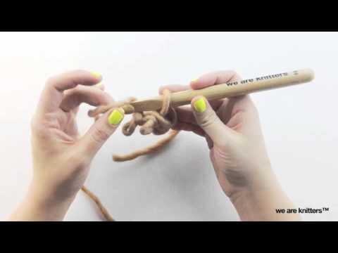 Häkeltechniken lernen - Eine Kordel oder I-Cord häkeln | WE ARE ...