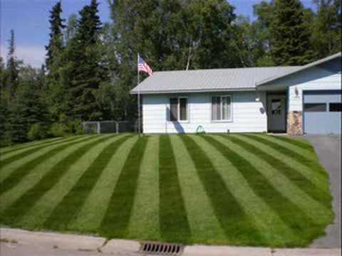 Lawn stripes youtube - How to stripe a lawn ...
