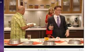 MICHAEL BUCKLEY - Cooking Segment on LIVE WITH KELLY (unlisted)