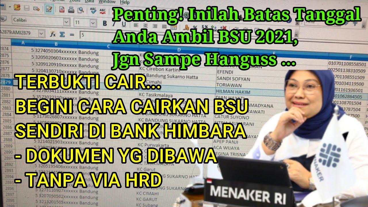 Download CARA CAIRKAN BSU BLT BPJSTK SENDIRI   TANPA VIA HRD   HANYA BAWA 2 DOKUMEN   AMBIL BSU SBLM TGL INI