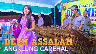 Download Lagu DEEN ASSALAM Nissa Sabyan - Angklung Carehal ft Essy Maria (Angklung Malioboro) Sabyan Gambus Mp3