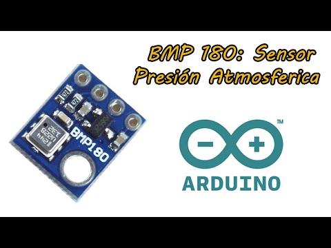 Sensor De Presión Atmosferica BMP180 Arduino 