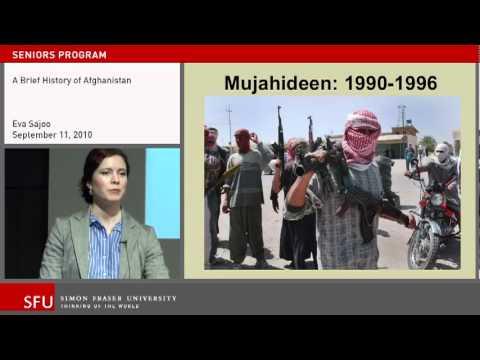 Eva Sajoo: A brief history of Afghanistan
