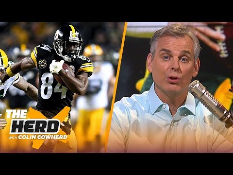 Colin Cowherd says AB is a perfect fit for Packers talks Russell Wilson to Giants  NFL  THE HERD