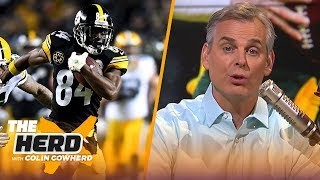 Colin Cowherd says AB is a perfect fit for Packers, talks Russell Wilson to Giants | NFL | THE HERD