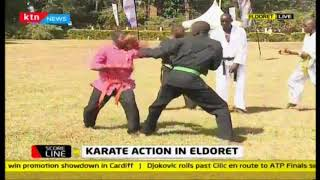 Karate action in Eldoret: Government of Kenya does not recognize Karate as a major sport