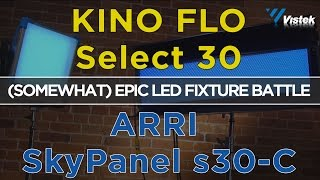 Kino Flo Select 30 vs Arri SkyPanel s30-c | Head to Head