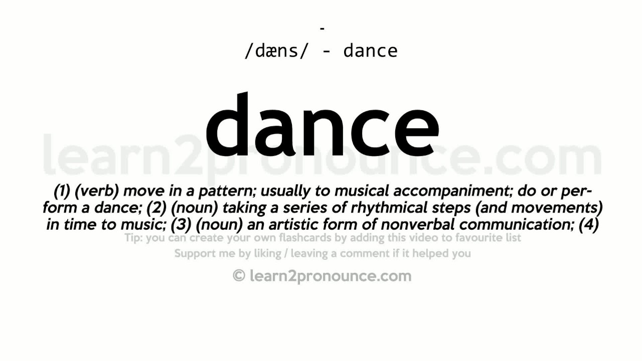 definition of dance Articles on dancecentral what is traditional dancing traditional dancing traditional dancing can be another term for folk dance, or sometimes even for ceremonial dance.