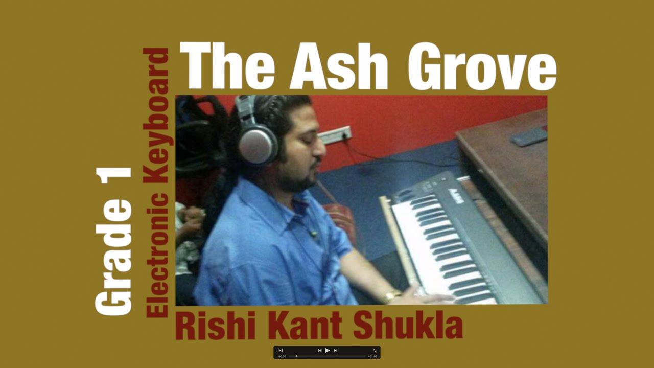 Trinity - The Ash Grove Electronic Keybaord Grade 1 Exam new syllabus 2015 - 2018
