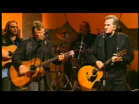 Johnny Cash and Kris Kristofferson - Big River (live 1993)