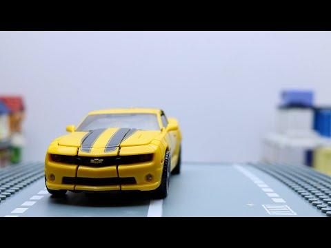 Transformers Movie Bumblebee, Megatron, Soundwave Stop Motion Aventure Vehicles Car Robot Toys