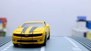 Transformers Movie Bumblebee, Megatron, Soundwave Stop motion Aventure Vehicles Car Robot Toys
