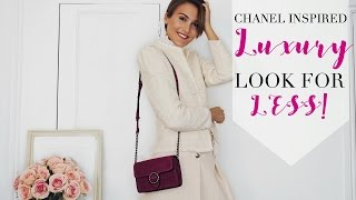 LUXURY LOOK FOR LESS | CHANEL INSPIRED OUTFIT | Blaise Dyer