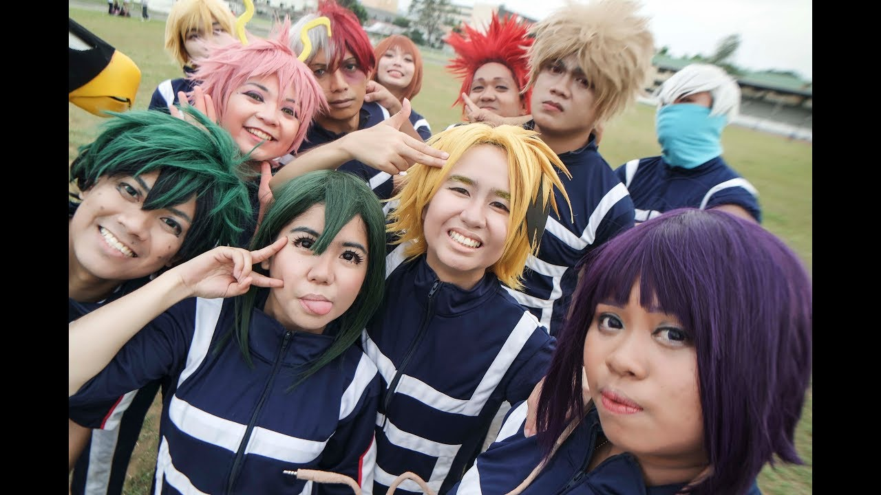 Boku No Hero Academia Bts Cdo Cosplayers Getting Ready