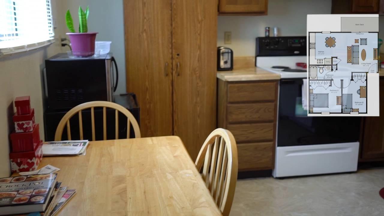 Tara Apartments 2BD 1 Bath 650 Sq Ft - YouTube