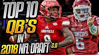The Truth About Lamar Jackson   Top 10 Quarterbacks In The 2018 NFL Draft