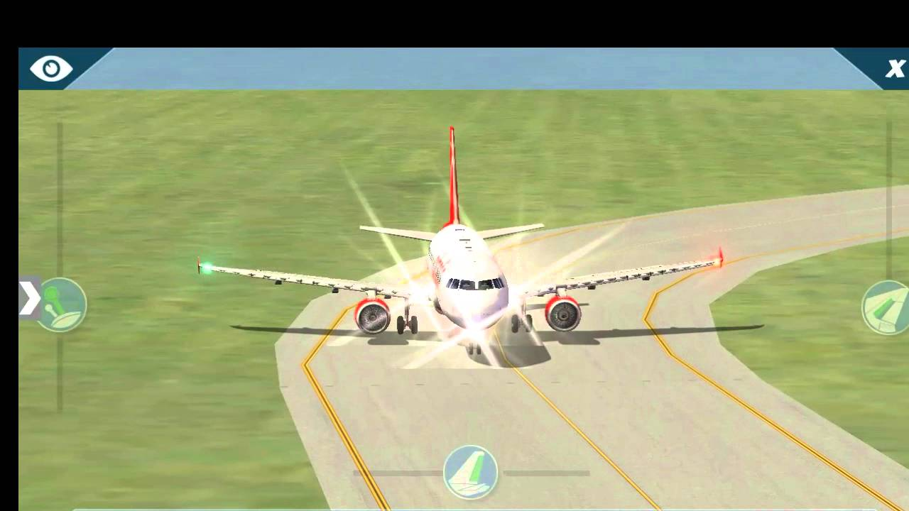 X-plane 10 android HD/Landing A-320 ,CRJ-200