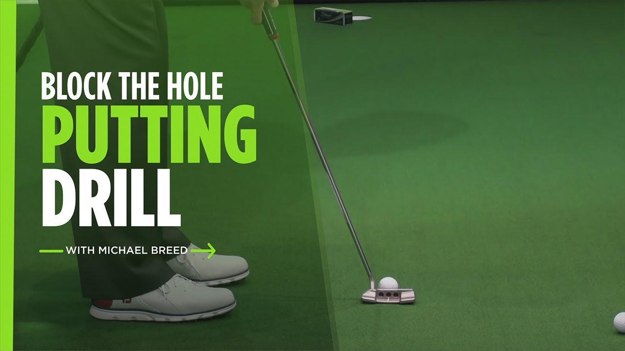 Quick Tips: Michael Breed's Block the Hole Putting Drill