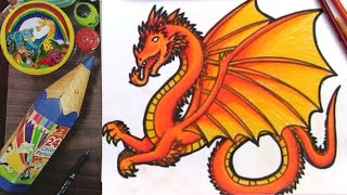 How To Coloure on Dragon