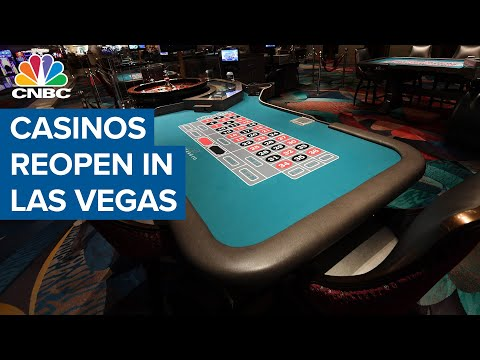 Casinos reopen in Las Vegas