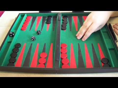 Backgammon For Complete Beginners.  Part 1 - Introduction And The Board.