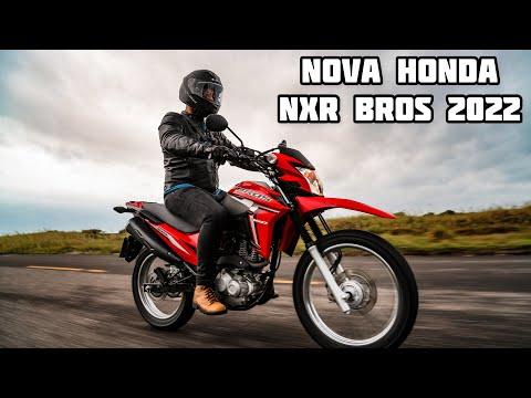 NOVA HONDA NXR 160 BROS 2022: melhor do que CG?