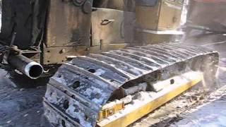 Работа на крайнем севере России, дальнобойщики по бездорожью,  truckers north roads