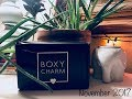 November 2017 BoxyCharm *Unboxing and First Impression Version*