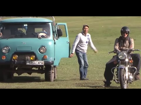 Motorcycle Royal Enfield Adventure in Mongolia - Vintage Rides