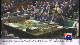 Lord Tariq Ahmad on Geo TV January 2013
