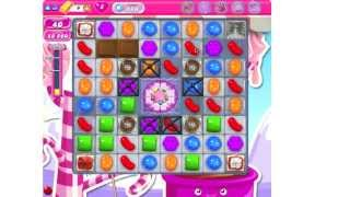 Candy Crush Saga Level 486 ★★ no boosters (TUTORIAL)