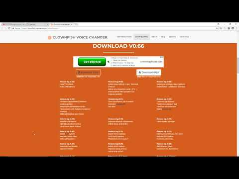 download clownfish voice changer