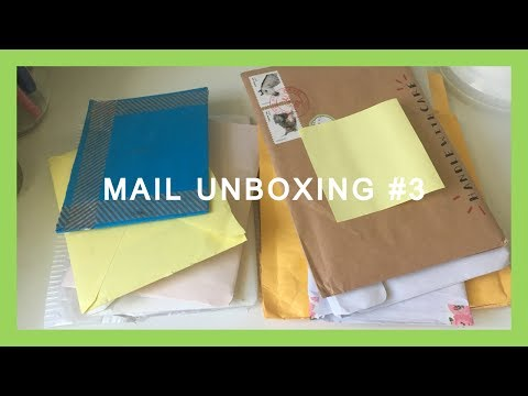 Mail Unboxing #3: Biggest Haul Yet!!!!