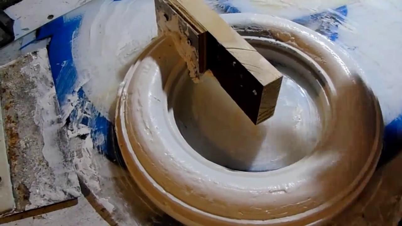 Como hacer unasuper tarraja para hacer molduras de yeso - Molduras de escayola para techos ...