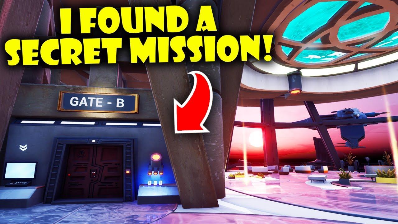 I Found A Secret Mission in the NEW Fortnite Creative Hub!