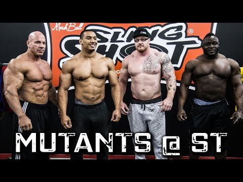 Deadlifting Mutants ft. Larry Wheels, Stan...