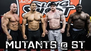 Deadlifting Mutants ft. Larry Wheels, Stan Efferding, Steve Gentili, Tee Popoola