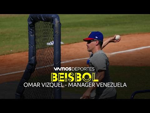 Entrevista con Omar Vizquel, manager de Venezuela - Vamos Deportes