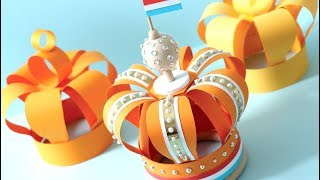 How to Make a Paper Crown for Birthday   Kingsday   Celebration!