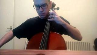 System of a Down - Toxicity Cello (Bass Line Cover)