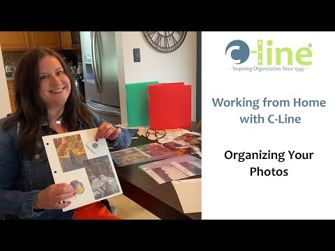 working-from-home-with-c-line,-organizing-your-photos---c-line-products