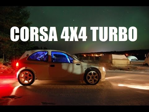 Opel Corsa 4x4 Turbo Build Project