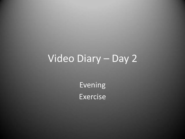 Day 2 Evening : Exercise