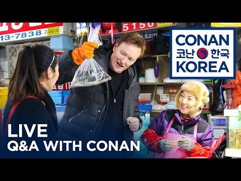 LIVE YouTube Q&A: Conan Korea