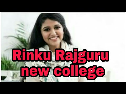 Rinku Rajguru at Pune Fergusson College